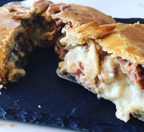 La boulangerie-snack à Combrée